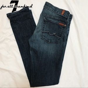 7 For All Mankind Roxanne Skinny Jeans - 27 (4)